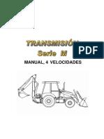 203306309 Manual Sistema Transmision Retroexcavadoras Serie m Case Copia PDF