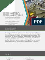 TURBINAS DE GAS - TURBINAS DE VAPOR.pptx