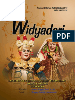 Widyadari Nomor 22 Tahun XVIII Oktober 2017