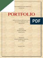 PHILOSOPHY PORTFOLIO 2.docx
