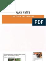 Fake News, una forma de ciberacoso