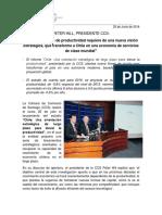 Comunicado Informe de Productividad CCS