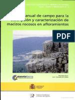Manual de Campo Para La Descripcion y Caracterizacion de Macizos Rocosos