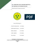 Tugas Kinerja, Proyek Dan Instrumennya Kelompok PPEP