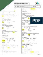 Producto Notable - Ejercicios 4° Sec.pdf