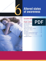 chapter 6 - altered states of awareness