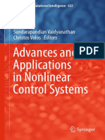 (Studies in Computational Intelligence 635) Vaidyanathan, Sunddarapandian_ Volos, Christos (Eds.)-Advances and Applications in Nonlinear Control Systems-Springer (2016)