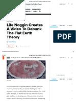 Life Noggin Creates a Video to Debunk the Flat Earth Theory _ GOOD