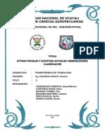 Ayudas Visuales y Auditivas Actuales, Generalidades, Clasificación