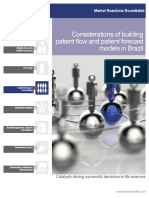 Considerations of Building Patient Flow and Patient Forecast Models in Brazil