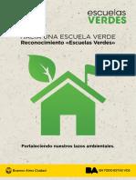 Escuelas Verdes - Ministerio de Educación de Buenos Aires
