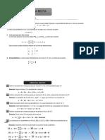 Formas de La Ecuacion de Una Recta