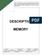 3 - Descriptive Memory Generadores 60 Mw