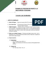 Plan Programas Prevencion