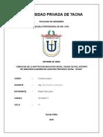 informe de obras de CONSTRUCCIONES I.docx