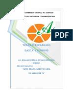 Participacion de Las Cajas Municipales y Afps en El Sistema Financiero de Hoy
