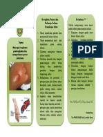 Leaflet Perawatan Lokasi Infus