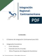 PRESENTACION INTEGRACION CENTROAMERICANA