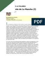 Don Quixote de La Mancha Trasladado Al Spanglish