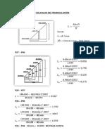 Cálculos de Triangulación