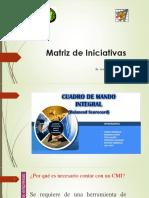 Matriz de Iniciativas