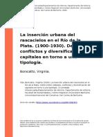 Bonicatto, Virginia (2009). La insercion urbana del rascacielos en el Rio de la Plata. (1900-1930). Debates, conflictos y diversificacion (..).pdf
