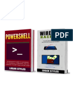 Powershell Scripting_ 2 Manuscripts--Powershell and Wireless Hacking - Logan Styles