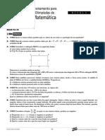 Matemática - Curso Anglo - n1 aulas16a18