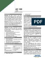 Basf MasterSet AC 100 v1 Tds