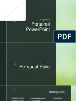 personal powerpoint - careers