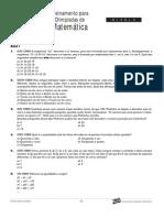 Matemática - Curso Anglo - n2 aulas1a3