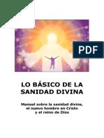 Lo Basico de La Sanidad Divina_manual
