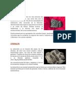 Minerales Del Metamorfismo