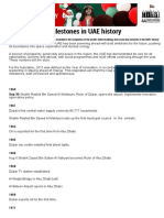 Know the Key Milestones in UAE History _ GulfNews