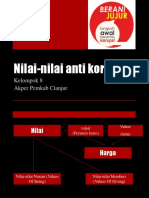 Nilai-nilai Anti Korupsi
