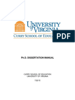 Curry Dissertation Manual 7.22.15FINAL