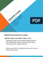 Adjactive Clause (2)