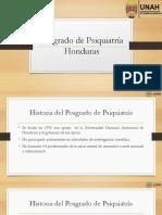 Posgrado de Psiquiatría Honduras