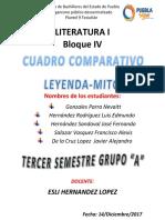 (13!12!2017)Cuadro Comparativo Mito Leyenda