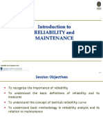 Introduction to Reliability and Maintenance