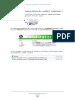 Cambiar Idioma Windows 7