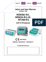 User Manual WINOXLR 3-6-14 Products