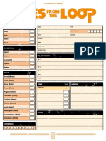 Charactersheet Eng