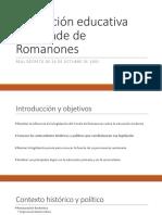 La Legislación de Romanones