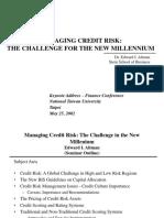 NTU - Credit Risk