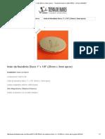 Imán de Neodimio Disco 1_ x 1_8_ (25mm x 3mm Aprox)