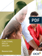 Functionalskills English153085 Resources Links