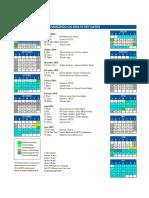 HZCIS Calendar 2018-19