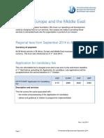 Ibaem Regional Fees 2014 2015