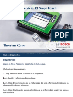 Curso Equipos Herramientas Instrumentos Diagnostico Servicio Mantenimiento Grupo Bosch Lineas Productos Aplicaciones